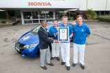 Record de consum cu Civic Tourer: 2,82 l/100 km
