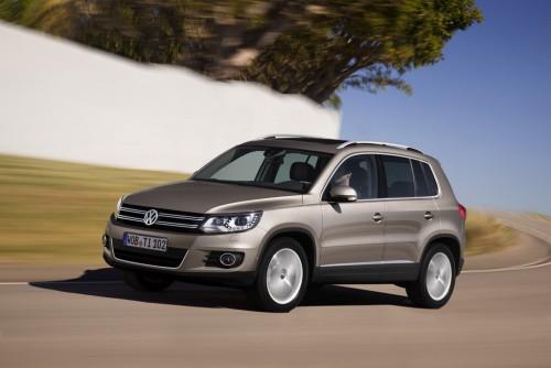 VW Tiguan dispune de noi motorizări și sisteme de infotainment