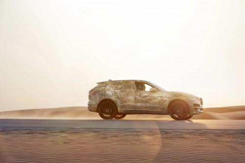 Jaguar F-PACE, testat în condiţii extreme