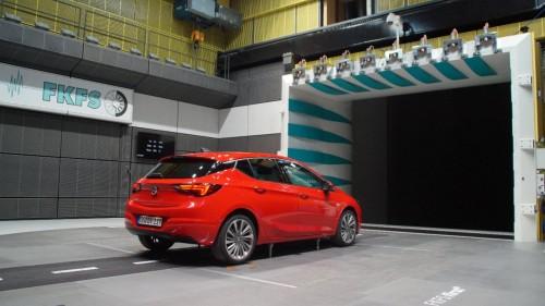 Noul Opel Astra, eficient din punctul de vedere al coeficientului aerodinamic