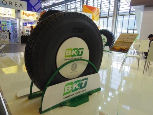 Noile anvelope BKT prezentate la salonul Intermat de lângă Paris