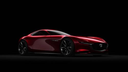 Mazda prezintă un concept sport cu motor rotativ