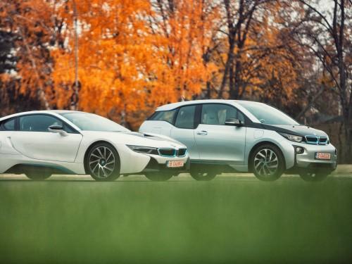 BMW i3 și i8, disponibile în România