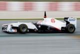 Sauber: Forma din teste este reala44308