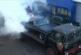 VIDEO: Triplu burnout!40259