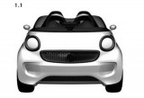 Mercedes patenteaza designul unui nou Smart Roadster38667