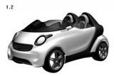 Mercedes patenteaza designul unui nou Smart Roadster38673