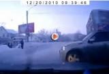 VIDEO: Un pieton cu reflexe excelente!38398