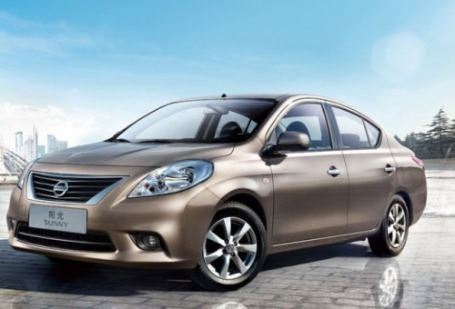 Nissan lanseaza modelul Sunny, in China38215