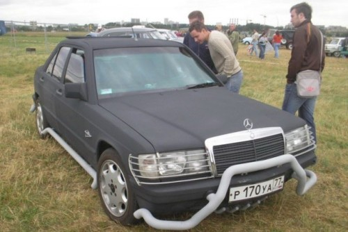 Iata primul Mercedes 190E crossover!38157