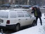 Iarna incearca din plin Romania! Atentie la drum!37890