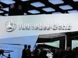 Paris LIVE: Standul Mercedes straluceste cu noul CLS33055