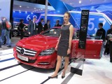 Paris LIVE: Standul Mercedes straluceste cu noul CLS33073