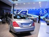Paris LIVE: Standul Mercedes straluceste cu noul CLS33077