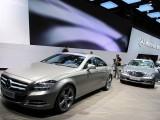 Paris LIVE: Standul Mercedes straluceste cu noul CLS33080