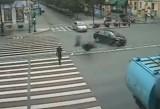 VIDEO: Pieton ucis de un motociclist de 15 ani!31403