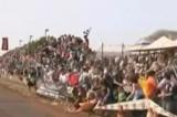 VIDEO: 100 de persoane ranite la o cursa de masini31001
