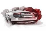 Primele schite cu noul concept Audi e-Tron Spyder!30884