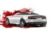 Primele schite cu noul concept Audi e-Tron Spyder!30885