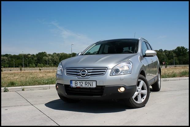 Test-drive cu Nissan Qashqai