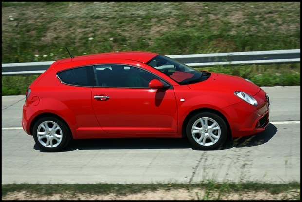 Test-drive cu Alfa Romeo MiTo