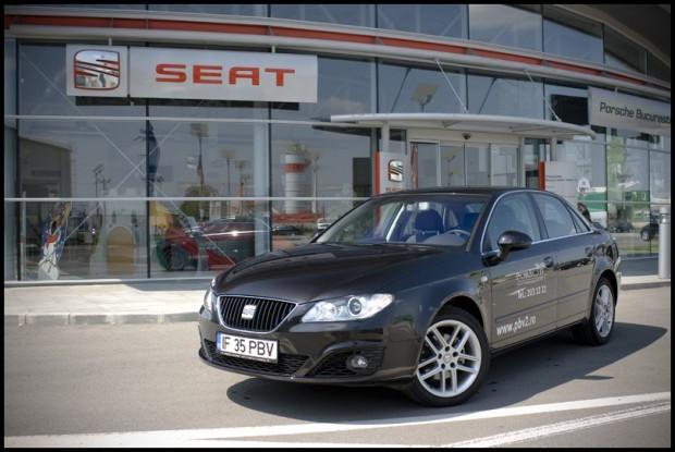 Test-drive cu Seat Exeo