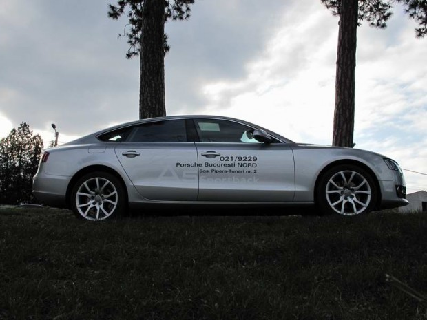 Test-drive cu Audi A5 Sportback