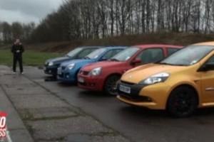 VIDEO: 20 de ani de Renault Clio hot hatch