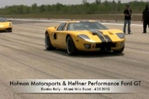 VIDEO: Ford GT-ul tunat de Heffner atinge 430 km/h