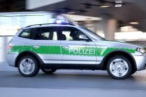 Politia bavareza testeaza un prototip BMW X3