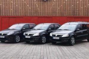 Dacia va lansa in Romania editia limitata Black Line