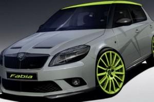 Skoda va prezenta la Wörthersee modelele Fabia si Octavia RS+