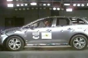 VIDEO: Mazda CX-7, doar 4 stele la Euro NCAP