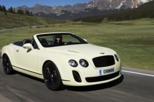 GALERIE FOTO: Noi imagini cu modelul Bentley Continental Supersports Cabrio