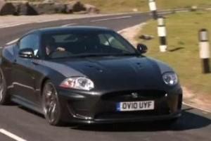VIDEO: Primul test cu noul Jaguar XKR 75
