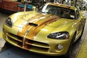 A fost produs ultimul Dodge Viper!