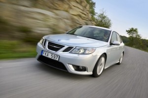 Saab 9-3 full electric e gata de teste