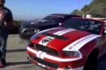 VIDEO: Shelby GT500 vs Camaro-Pontiac Firebreather