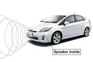 VIDEO: Toyota Prius va vorbi cu pietonii