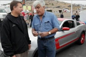 VIDEO: Jay Leno face cunostinta cu Mustang Boss 302 Laguna Seca