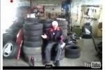 VIDEO: Rusii testeaza airbag-urile