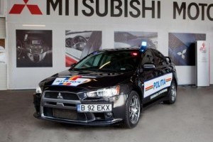 Politia Rutiera a primit un Mitsubishi Lancer Evolution
