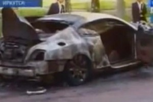 VIDEO: Bentley Continental GT, facut scrum in Rusia