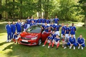 Citroen, partenerul nationalei de fotbal a Frantei