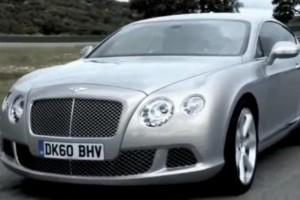 VIDEO: Noul Bentley Continental GT in actiune