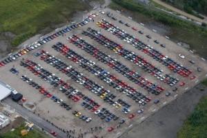 Record Mondial: parada cu 459 Mazda MX-5