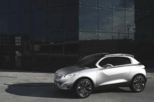 Conceptul Peugeot HR1 debuteaza la Paris