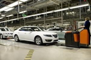 Concedieri la Saab