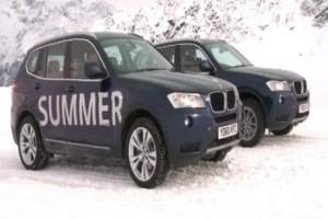VIDEO: BMW prezinta importanta anvelopelor de iarna