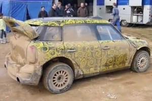 VIDEO: Kris Meeke testeaza noul Mini Countryman WRC